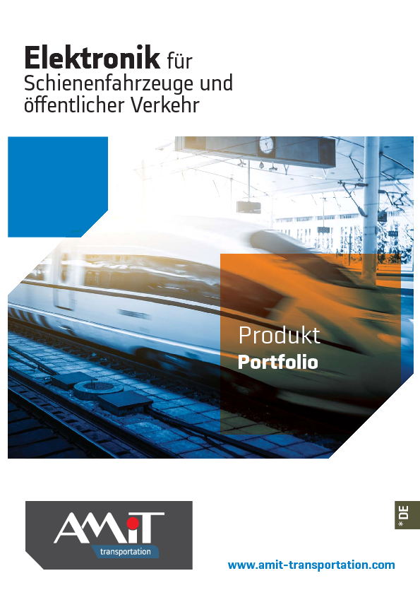 AMiT – produkt portfolio –  Deutsch
