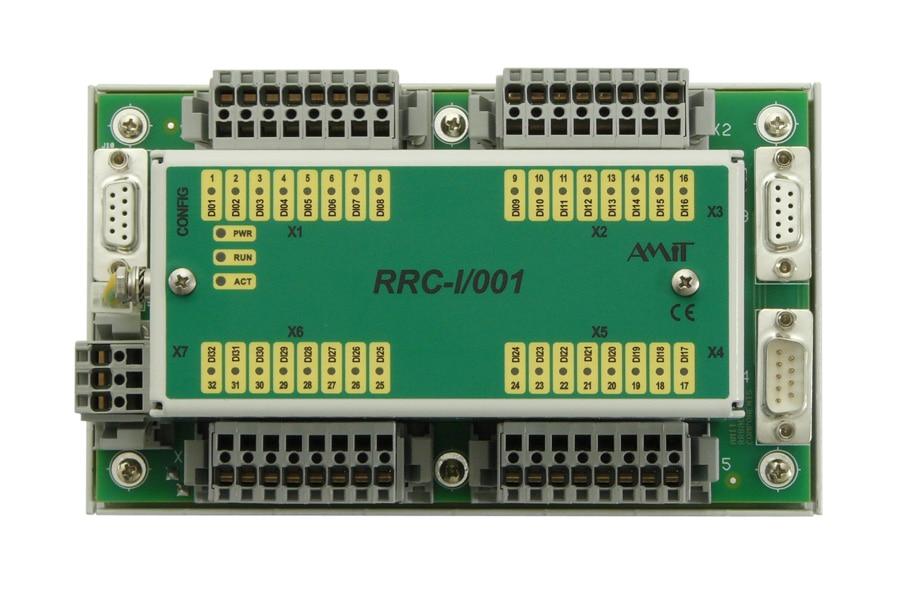 RRC-xx module - front view